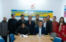 Lãnh đạo Tổng hội NN&PTNT Việt Nam đến thăm Trung tâm Xúc tiến thương mại và Phát triển nguồn nhân lực