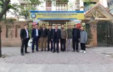 Lãnh đạo Tổng hội NN&PTNT Việt Nam đến thăm Trung tâm Xúc tiến thương mại và Phát triển nguồn nhân lực - TPHRDC