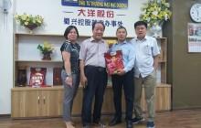 Lãnh đạo Tổng hội NN&PTNT Việt Nam đến thăm và làm việc với Lãnh đạo Công ty Cp đầu tư thương mại Đại Dương