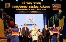 """Vinh danh 79 """"Thương hiệu vàng nông nghiệp Việt Nam"""""""
