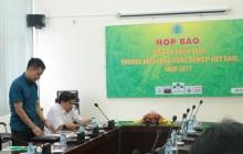 Họp báo công bố danh sách Thương hiệu Vàng nông nghiệp Việt Nam năm 2017