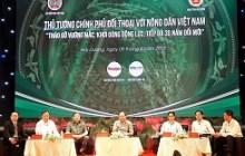 Lần đầu tiên tổ chức Hội nghị Thủ tướng đối thoại với nông dân