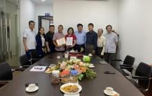 Trao quyết định Hội viên tập thể cho Công ty Cp đầu tư thương mại Đại Dương