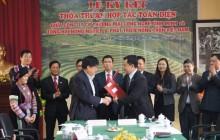 Ký thỏa thuận hợp tác toàn diện phát triển cây dược liệu